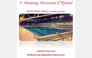 1er Meeting Hivernal d'Epinal - Labellisé National